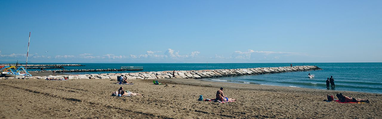 Wonderful campsites on the Adriatic coast, seaside located!